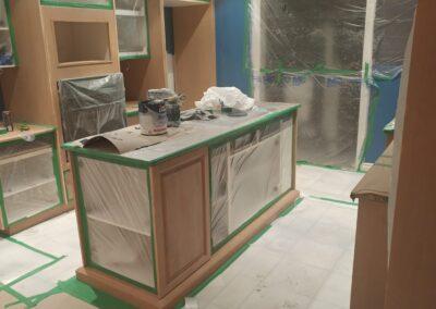Cuisine en construction